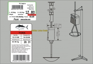 LH1X Series Label Printing Hanging Scale